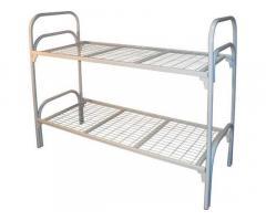 Металлические двухъярусные кровати, кровати металлические дешево